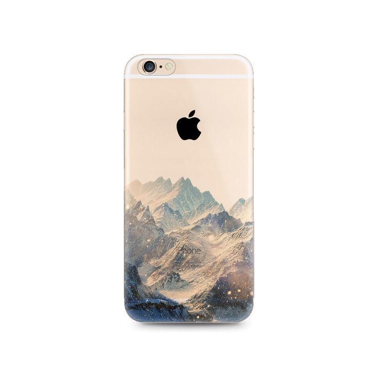 Snow Mountain Nice Scenery Nature iPhone 6s 6 Plus 5s 5 Case Transparent Clear Soft Silicone Rubber Printed Cover Case Free Shipping par MavaSoap sur Etsy https://www.etsy.com/fr/listing/257314812/snow-mountain-nice-scenery-nature-iphone