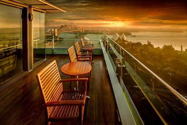 How about watching the sun rise from the Executive Lounge at Intercontinental Sydney. This hotel enjoys a prestigious location, 5 star accommodation and a first rate reputation as a conference venue. get more info at www.sydneyhotelconferences.com/Hotel-InterContinentalSydney.htm