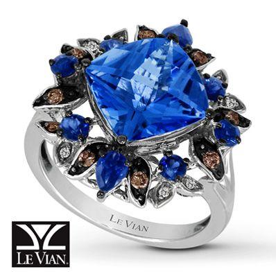 Ocean Blue Ring Jared