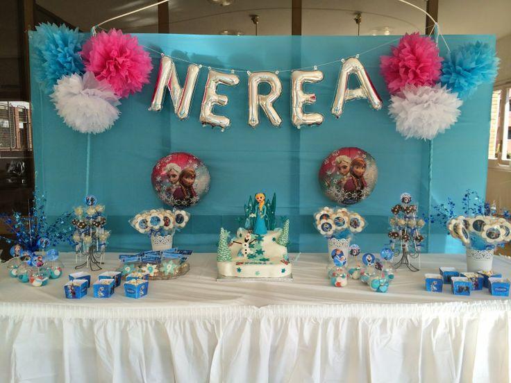 Karina´s Cookies & Cupcakes: Mesa dulce Frozen
