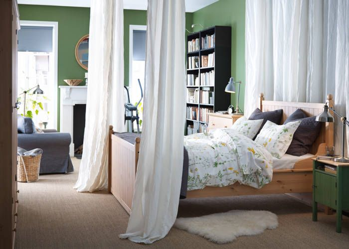 Go beyond the bed - furnish your bedroom for day and for night.