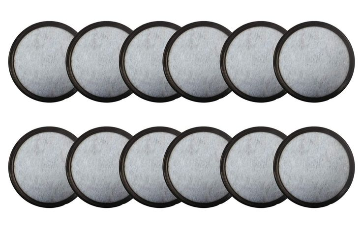 12 Mr. Coffee Charcoal Water Filters Fit WFF-3 Machines | Part # 113035-001-000