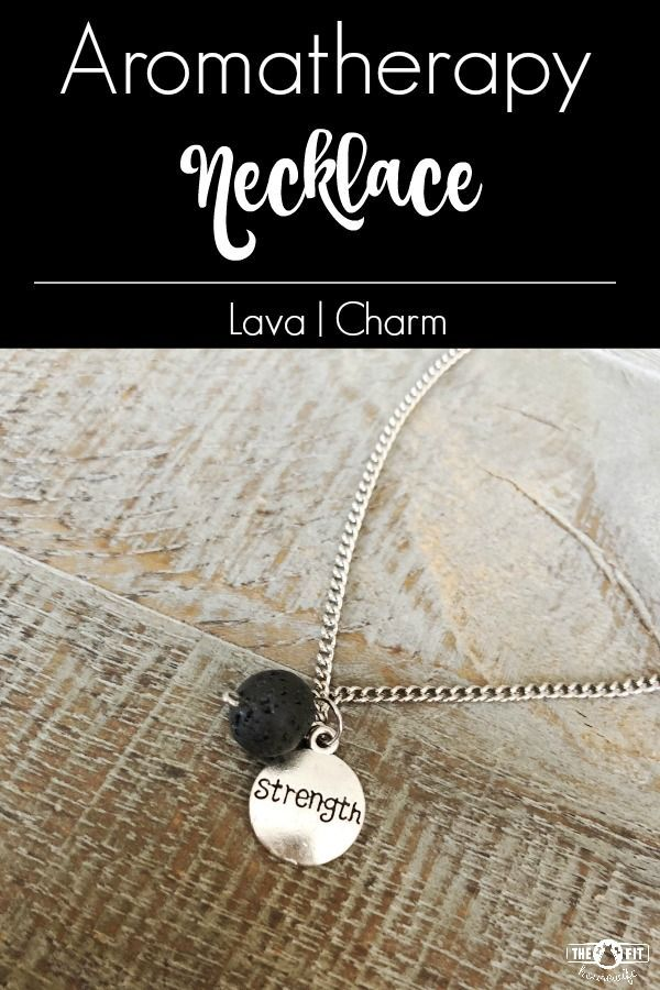 "A beautiful way to diffuse your essential oils! This ""strength"" charm with a black lava bead is the perfect inspirational gift.  CLICK HERE to order or see more of my designs."