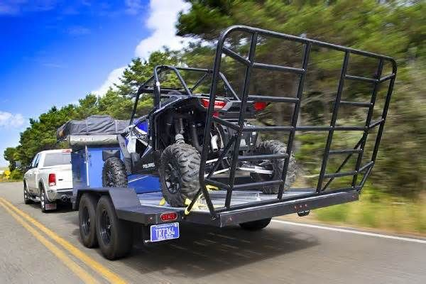 Off-road Tent Trailers Make Extended 4x4 Outings Comfortable But when you need one that's light enough to be towed by vehicles with maximum towing capacities of under 6,000 pounds, and you want the trailer to be sturdy and truly off-road capable? Well, the pickings get downright slim. That's because conventional ...