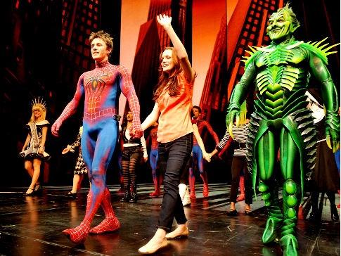 Spiderman Turn off the Dark, Broadway musical!