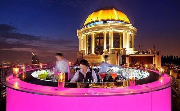 Very Bad Trip Bangkok, c'est sur ce rooftop :) Sky Bar au Lebua at State Tower