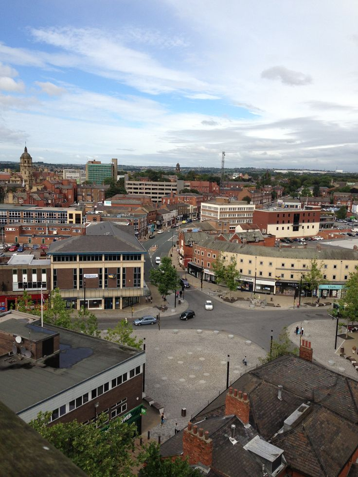 #Panoramic #Wakefield #WestYorkshire
