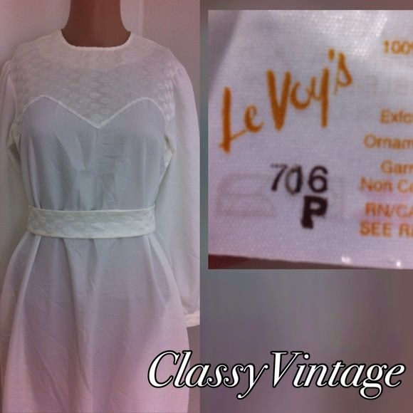 VINTAGE boho maxi dress Simply designed and beautiful white maxi dress. Embroidered top, cuffs and belt. Cuffs also have round pearl like buttons. Back zipper and sheer. Side pockets. Could be a beach or house party dress or a simple wedding dress. No size on her. Belt is adjustable 27 inches or 29 inches. Bust 36, waist 36 , hips 42 and length 57.5. le Voy's Dresses Maxi