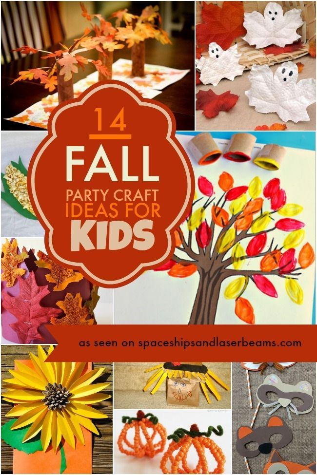 Fall Kids Party Crafts Delightful Party Fun