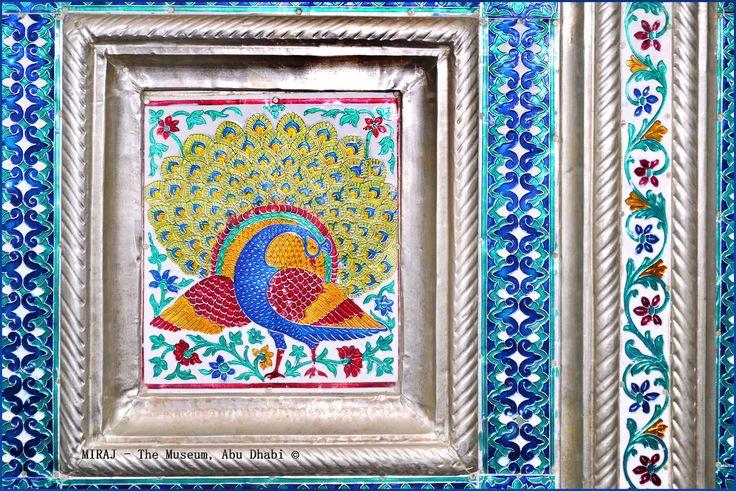 #MirajTheMuseum #AbuDhabi #visitAbuDhabi #artwork #art #meenakari #enameling #meenakariwork #minakari #handmade