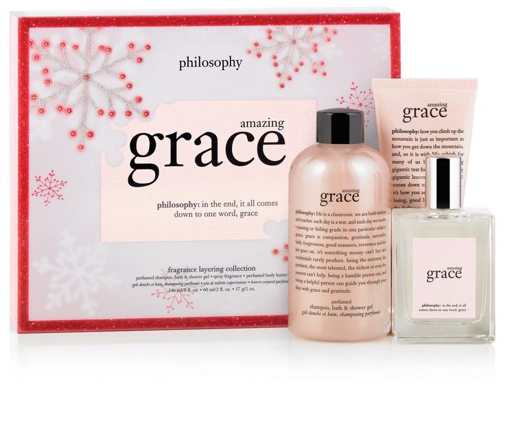 Philosophy amazing grace fragrance amazing grace