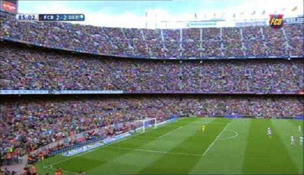 Xavi Hernadez został pożegnany przez fanów FC Barcelony • Ostatni mecz Xaviego w Primera Division • Zobacz ogromną owację kibiców >> #barca #fcbarcelona #barcelona #football #soccer #sports #pilkanozna
