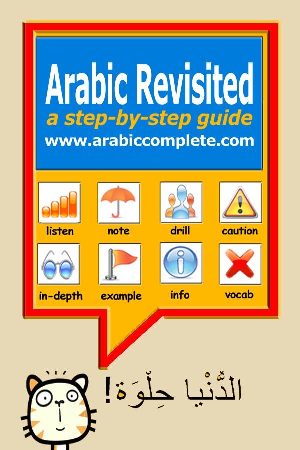 The Arabic language -- تعلم اللغة العربية
