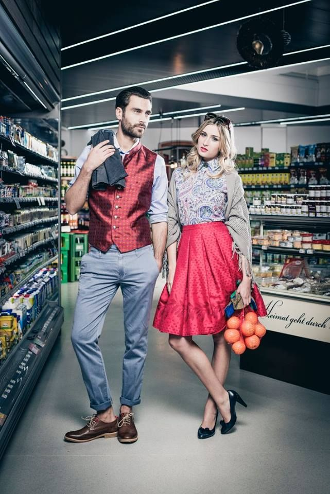 SS15 campaign by Seidl Tracht & Mode with NOBRAND ® shoes!