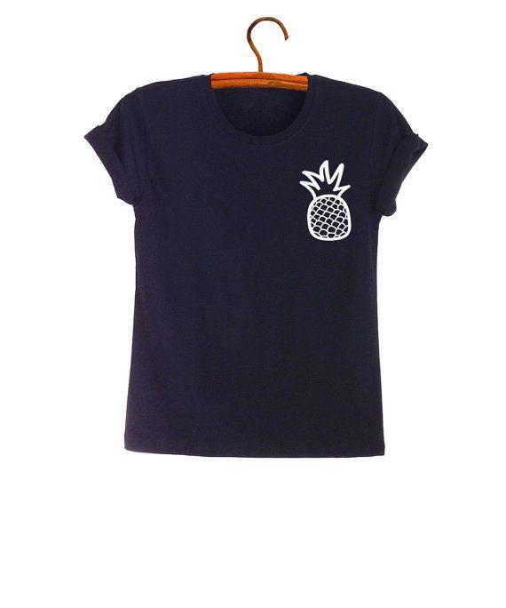 Piña camisas camiseta Unisex para mujeres piña camiseta fruta