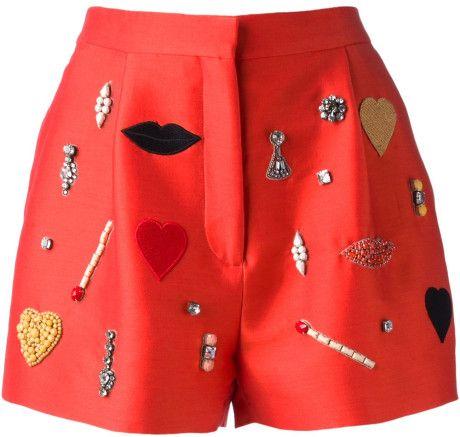 Embellished Shorts - STELLA MCCARTNEY dressmesweetiedarling