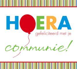 Communie kaarten - Eerste Communiekaarten - Echte kaarten maken & versturen   Hallmark.be