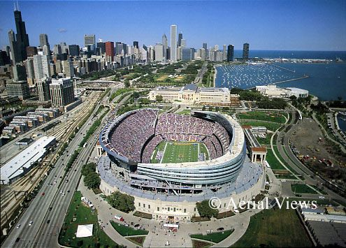 Soldier Field, Chicago Bears.