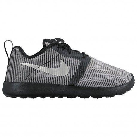 Nike Roshe Run Flight Weight - Boys' Preschool - Running - Shoes - Matte  Silver/Metallic Silver/Black/White-sku:19689009