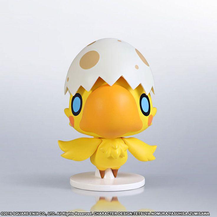 World of Final Fantasy Static Arts Mini Chocochick 10 cm