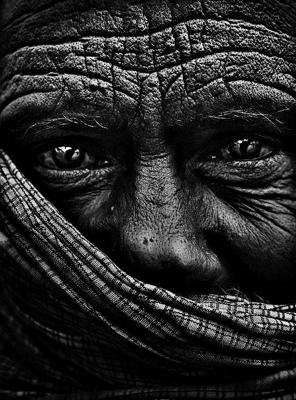 Life in his eyes, wisdom is his wrinkles…