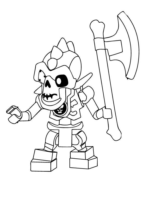 lego ninjago skelett ausmalbilder  amorphi