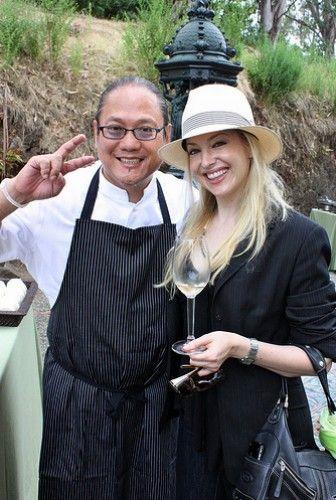 Morimoto @ Auction Napa Valley, for Eater