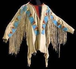 antique native american clothing -