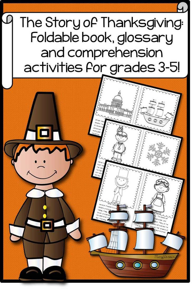 The Story of Thanksgiving: Book and Activities for Grades 3-5