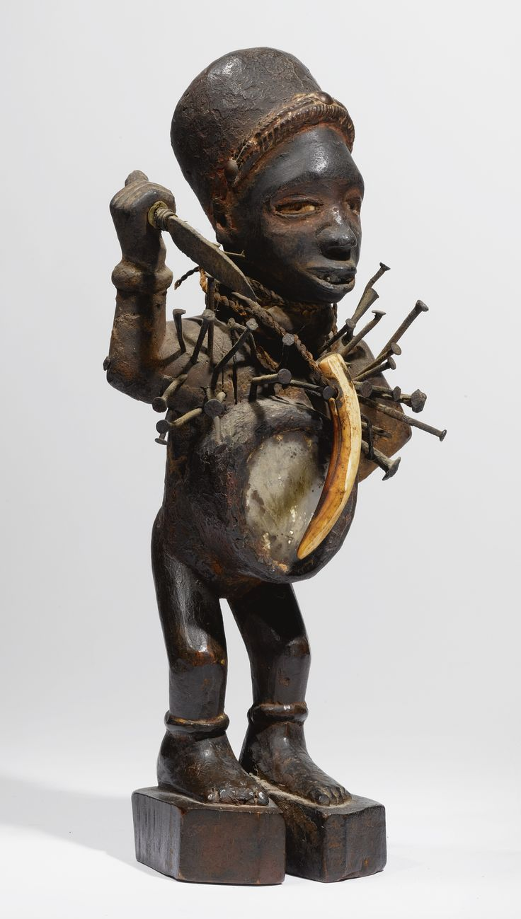"dogon and kongo power figure Dogon (kibisi, tombo) e who used it as a tool to control and keep spiritual power the force was added to the figure by using ""fetishism revisted: kongo."