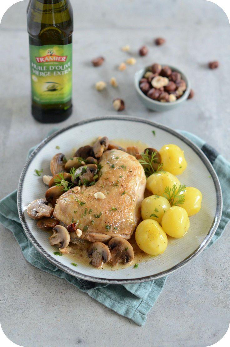Poulet rôti à la moutarde et au miel – Paprikas