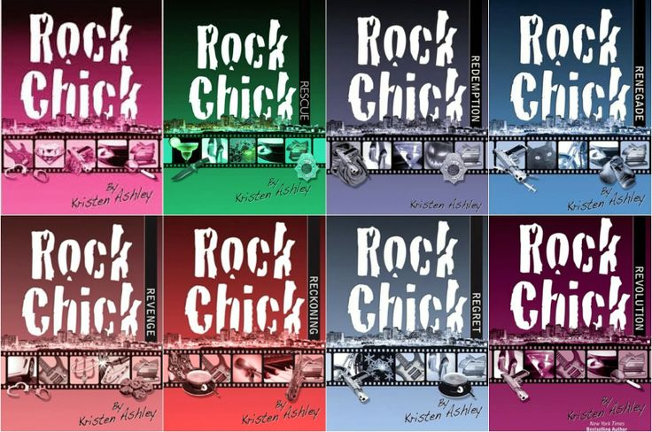 Reading Order - Rock Chick Series by Kristen Ashley