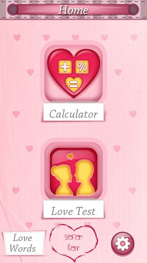 Love Calculator: Couple Games – Improve your love life in just a few days with this amazing love calculator free app! Download the most accurate love meter test and discover your love compatibility percentage right away! Find out how compatible you and your partner are with this incredible mobile app! No matter whether you just entered a new relationship or you've been dating for years, this love test game will tell you whether you're a perfect couple or it's time to call the love