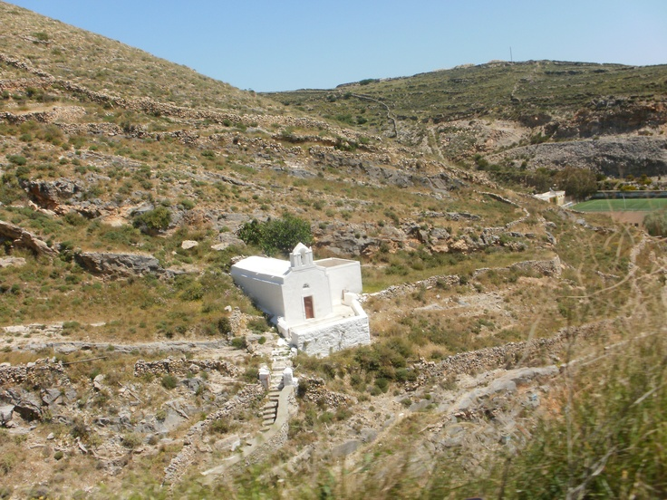 a chapel in the middle of nowhere - Ano Syros
