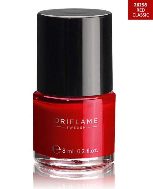 http://www.istyle99.com/Oriflame-Nail-Paint/?cid=mj04 Oriflame Pure Colour Nail Polish - Red Classic 8ml @ 15% OFF Rs 2104.00 Only FREE Shipping + Extra Discount - Lipstick Online, Buy Lipstick Online Online, Oriflame Cosmetics,  online Sabse Sasta in India - Makeup & Nail P