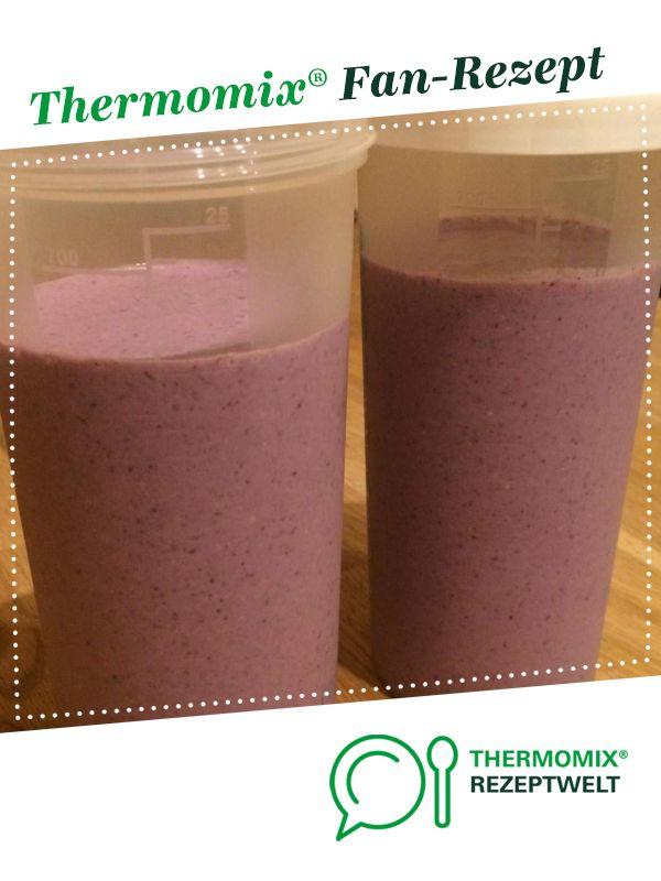 Strandfigur Frühstückshake von –Bbyby–. Ein Thermomix ® -Rezept aus der K …   – TM: Joghurt | Müsli | Quark | Eis | Pudding | Shakes