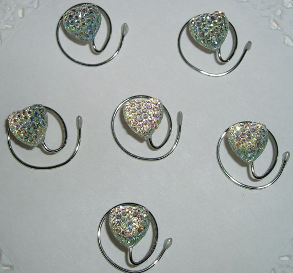 Heart Hair Swirls for Bridal Party in Dazzling by hairswirls1, $12.99