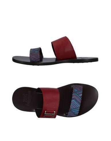 fabiano ricci mens sandals maroon 12 us menssandals
