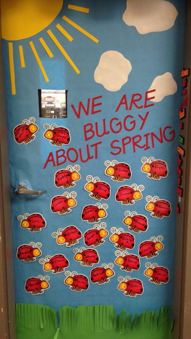 Ladybug Classroom Decoration Ideas ~ Classroom door ladybugs and on pinterest