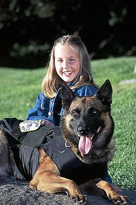 Vest-a-dog  The story of an 11 year old girl making a difference for the K9 officers in her community and how you can follow her lead.