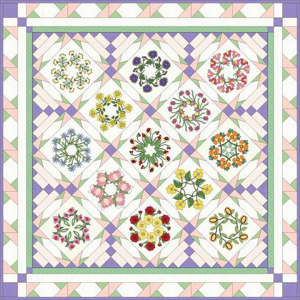 Quilting Designs Sashing : good idea for border and sashing Quilt borders Pinterest