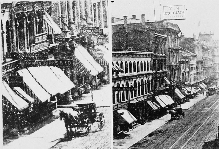 St Jacques Street store in 1880