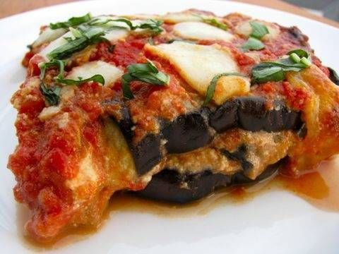 Baked Eggplant Parm!! I'll prob mix in some zucchini also..
