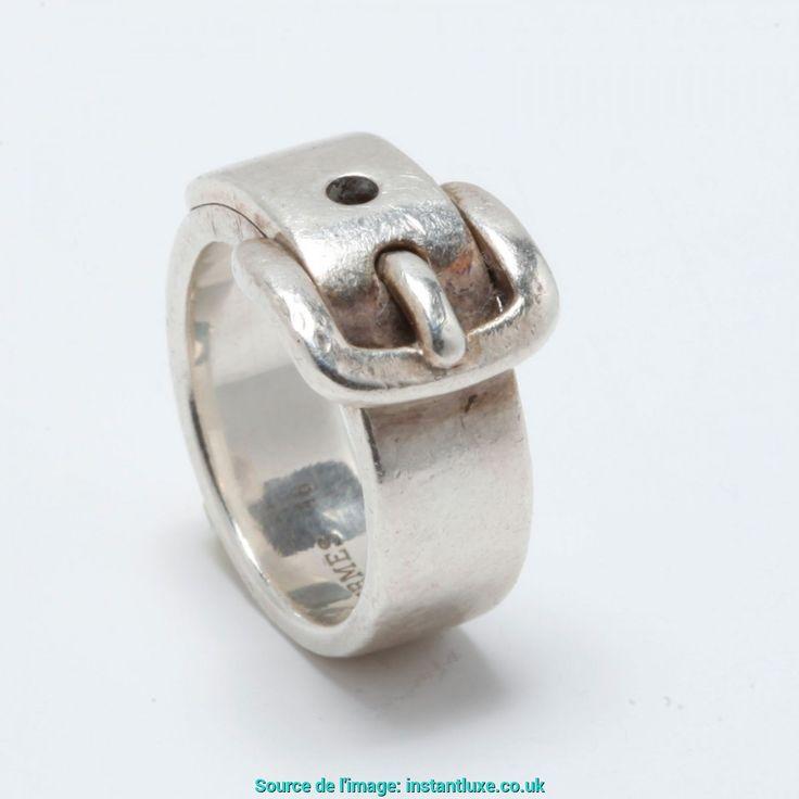 Génial Bague Hermes Boucle Ceinture Hermès Ring Ceinture Argent Massif T48 Silver Silver Ref. A6796