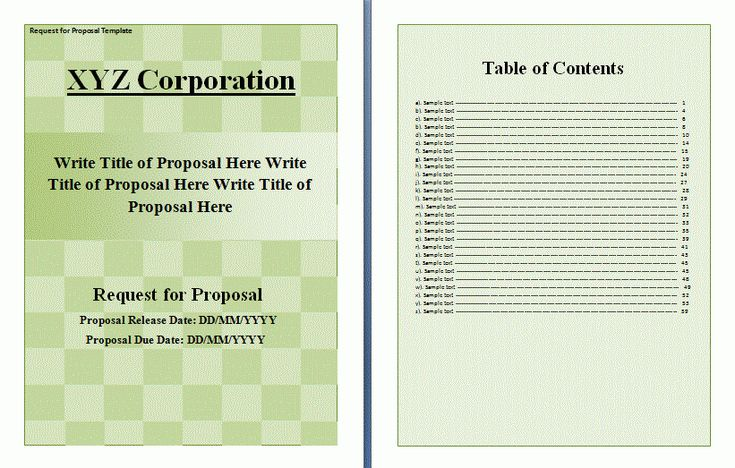 Sponsorship Proposal Template  Proposal    Template