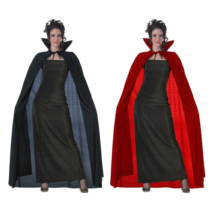 Full Length Cape Adult Vampire Magician Cloak Halloween Fancy Dress Costume Acsy #RubiesCostumeCoInc