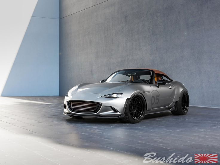Mazda MX5 By Bushido 2016