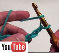 Crochet video tutorial for the absolute beginner. I learned 6 stitches in one night this week thanks to these videos.