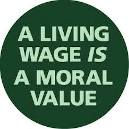 Truth be told.  No hard working person should live below the poverty line working 40+ hours a week.