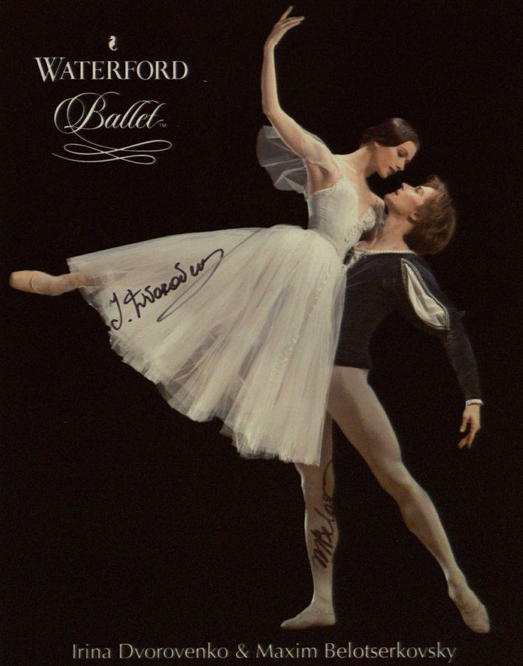 """<<Happy Birthday Irina! # Irina Dvorovenko (American Ballet Theatre) was born on October 28, 1971 in Kiev, Ukraine # Irina Dvorovenko and Maxim Belotserkovsky, """"Giselle"""""""